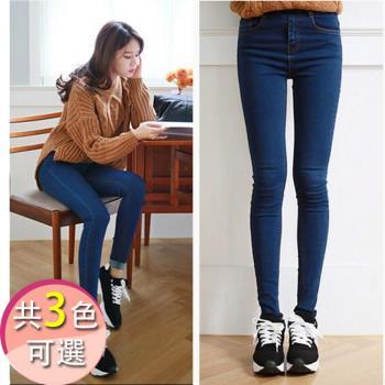 【LANNI藍尼】心機款-超顯瘦高彈力窄管褲