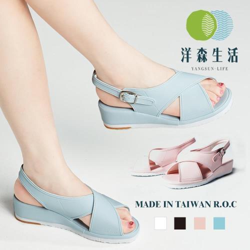 台灣製流行女涼鞋-4色-日系暢銷經典系列#YS750
