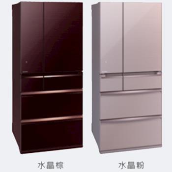MITSUBISHI三菱 705L六門變頻電冰箱 MR-WX71Y(贈雙好禮)