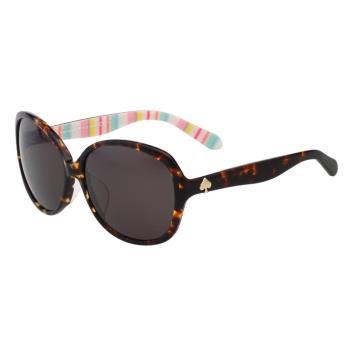 Kate Spade- 圓面造型 太陽眼鏡(琥珀色)