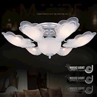 【光的魔法師 Magic Light】銀天使 半吸頂六燈 臥室燈具 吸頂燈飾