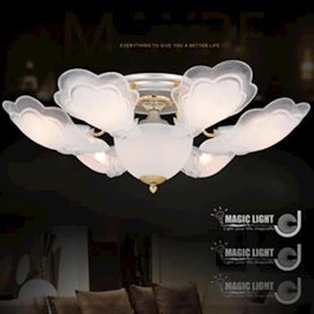 【光的魔法師 Magic Light】金天使 半吸頂六燈 臥室燈具 吸頂燈飾