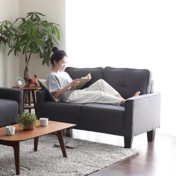H&D 愛麗絲地中海風格優雅雙人沙發