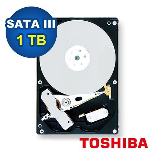 TOSHIBA 3.5吋 1TB 5700RPM / 32MB 監控型硬碟-DT01ABA100V