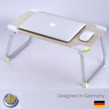 【挪威森林】北歐極簡風電腦摺疊桌/電腦桌/移動式書桌/床上桌/野餐桌