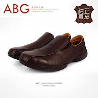 【ABG】MIT.純正真皮.懶人休閒皮鞋 (F257-1600D)