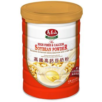 馬玉山 高纖高鈣豆奶粉400g x4罐+亞麻籽堅果杏仁飲10入 x1袋