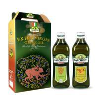 義大利 法奇歐尼 經典特級冷壓初榨橄欖油+經典橄欖油 各500ml
