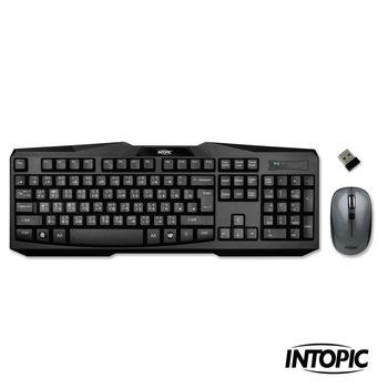 【INTOPIC】2.4GHz無線鍵盤滑鼠組合包KCW-930