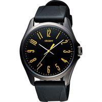 ORIENT 流行風尚石英腕錶-黑/43mm FQC0S009B