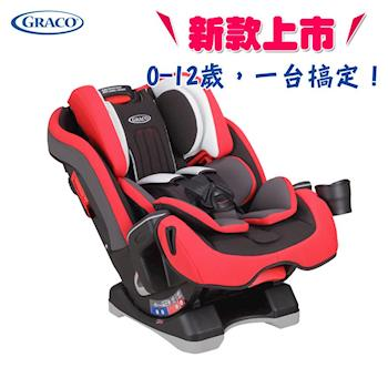 【Graco】0-12歲長效型嬰幼童汽車安全座椅 MILESTONE(紅熊)