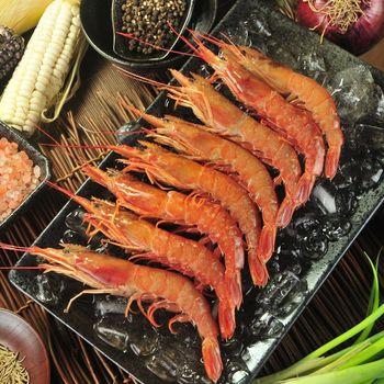 漁季 阿根廷國寶天使紅蝦(2000g/盒)*2