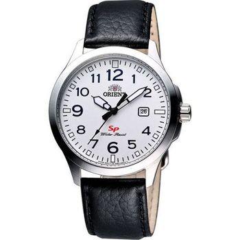 ORIENT 東方錶 探險家SP石英腕錶-白/40mm FUNE4009W
