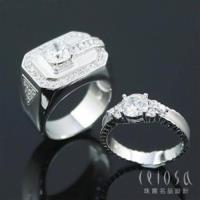 【Celosa珠寶】Lover完美呈現對戒