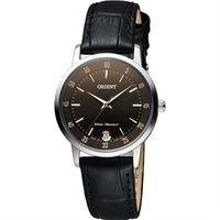 ORIENT 東方錶 SLIM系列城市時尚女錶-咖啡x黑/31mm FUNG6004T