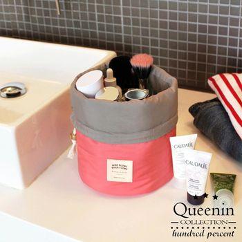 DF Queenin - 彩妝大師隨身御用束口式化妝包-共2色
