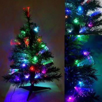 夢幻多變2尺/2呎(60cm)彩光LED光纖聖誕樹