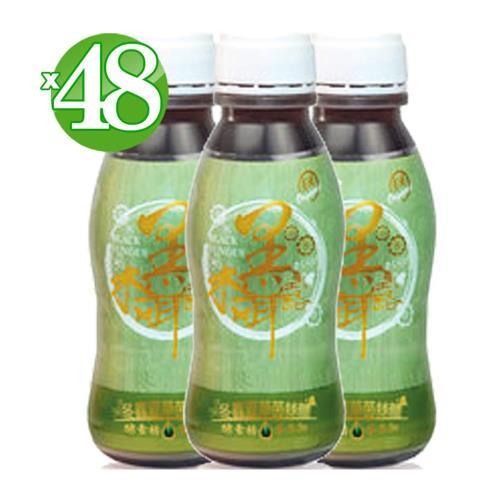 【大漢酵素】有機酵素冬蟲夏草菌絲體黑木耳露48入(350ml/瓶)