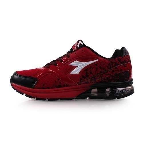 【DIADORA】男氣墊慢跑鞋-路跑 寬楦 紅黑白