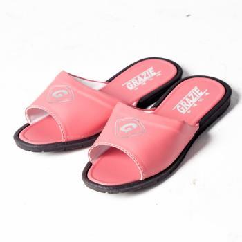 【洋森生活】台灣製GRAZIE室內拖鞋-粉紅色#CF603-1