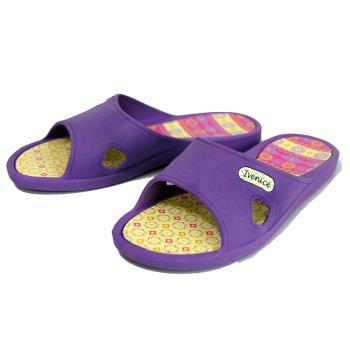 【洋森生活】台灣製IVENICE彩繪室內拖鞋-2色可選#CF215