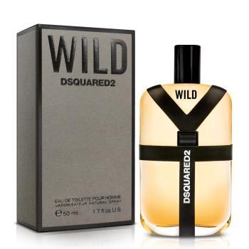 DSQUARED2 WILD 男性淡香水(50ml)+品牌小香