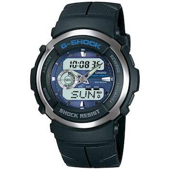 【CASIO】G-SHOCK 超炫迅雷戰士運動賽車錶 (G-300-2)
