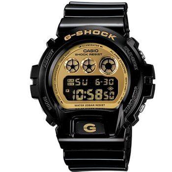 G-SHOCK 前衛搖滾風格數位運動錶 DW-6900CB-1