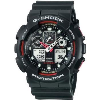 G-SHOCK 重型機械感Man個性運動錶 GA-100-1A4