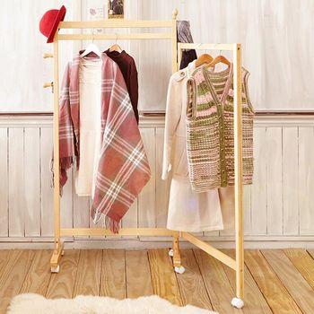 【澄境】日系可收合室內玄關衣帽架 -三色可選