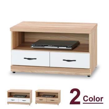 【時尚屋】[5U7]原切浮雕3尺電視櫃5U7-283-810兩色可用