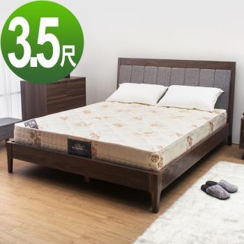 Bernice-經典透氣防蟎抗菌獨立筒床墊-5尺標準雙人