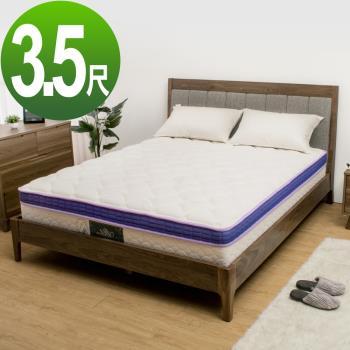 (免樓層費)Bernice-涼感纖維記憶釋壓棉獨立筒床墊-5尺標準雙人