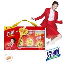 【克補】B群+鐵禮盒 共180錠(蔡淑臻 真心推薦)-網