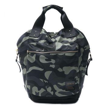 ANGIMI SHOP 旅行吧 經典大容量手提後背包 迷彩