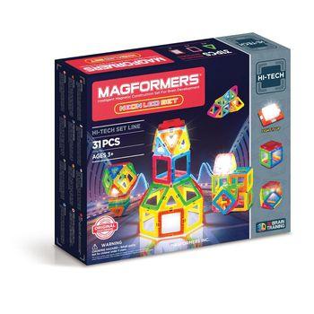 【Magformers 磁性建構片】螢光LED 31pcs ACT06190