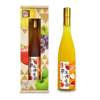 【上班這黨事推薦】醋桶子三年熟成蘋果蜂蜜醋600ml