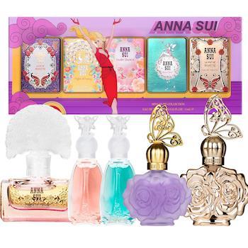 Anna Sui安娜蘇 華麗航空迷你小香禮盒(4mlx5瓶)