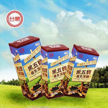 台糖 黑五寶養生薄餅(120g/盒)
