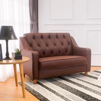 Bernice-蒙诺复古皮沙发双人椅/二人座(三色可选)