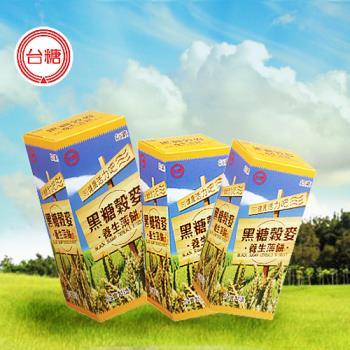 任-台糖 黑糖榖麥養生薄餅(120g/盒)