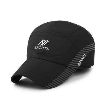 【幸福揚邑】保暖防風吸濕排汗透氣速乾護耳棒球帽鴨舌帽-黑色
