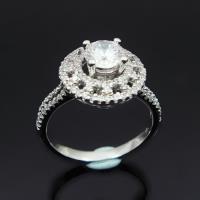 【Celosa珠寶】奢華晶鑽戒指