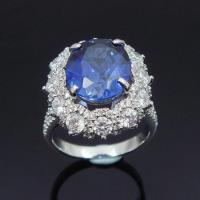 【Celosa珠寶】麗緻藍寶戒指