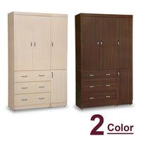 【時尚屋】[5U7]無敵4x7尺衣櫥5U7-180-471兩色可選