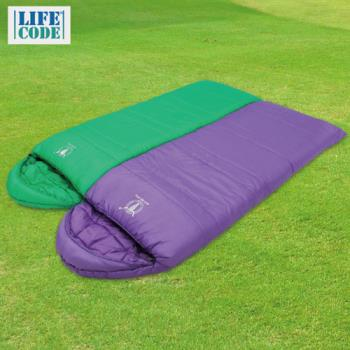 【APC】馬卡龍秋冬可拼接全開式睡袋 (2入組) 四色可選