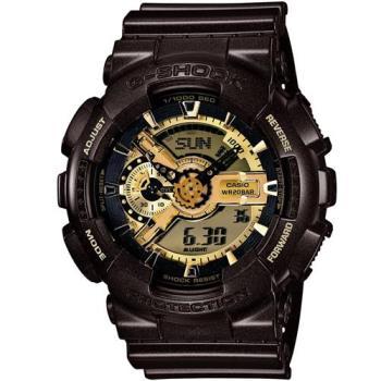 G-SHOCK 重機裝置Man街頭狂熱概念錶 GA-110BR-5A