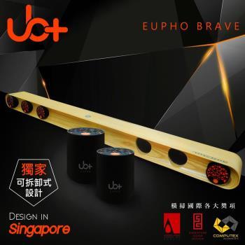 【新加坡UB+】原木模組化立體音藍牙劇院EUPHO BRAVE