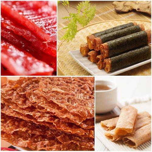 喜福田海陸綜合肉乾組4入禮盒組