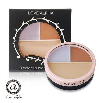 【Love Alpha】綜合三色提亮修飾遮瑕膏